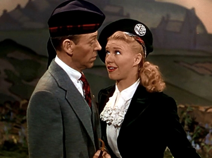 """My One and Only Highland Fling"" - Fred Astaire et Ginger Roger dans THE BARKLEYS OF BROADWAY - Charles Walters (1949)"