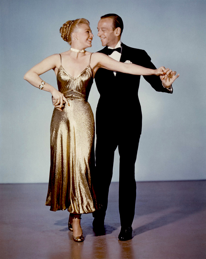 "(stills 20416) Ginger Rogers and Fred Astaire in ""The Barkleys of Broadway"" (Entrons dans la dance) by Charles Walters ,1949"