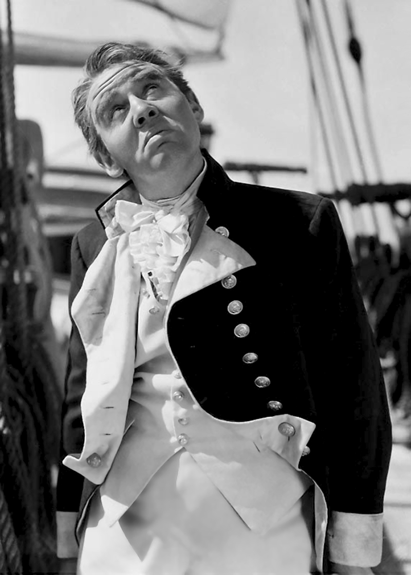 Charles Laughton dans Mutiny on the Bounty (Les Révoltés du Bounty ) de Frank Lloyd (1935)