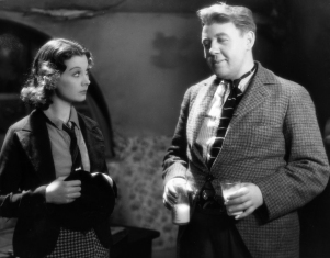Charles Laughton dans Vedettes du pavé (Sidewalks of London) de Tim Whelan (1938)