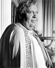 Charles Laughton dans Spartacus de Stanley Kubrick (1960) adapté du roman de Howard Fast