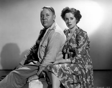 Charles Laughton et Elsa Lanchester, son épouse