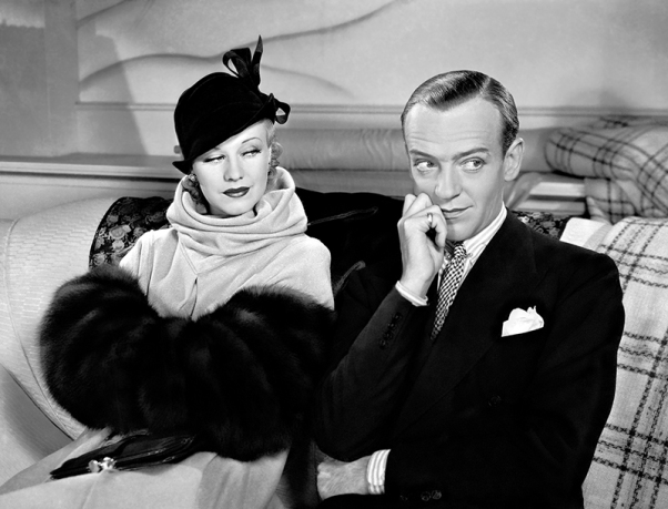 Fred Astaire et Ginger Rogers dans Roberta de William A. Seiter (1935)