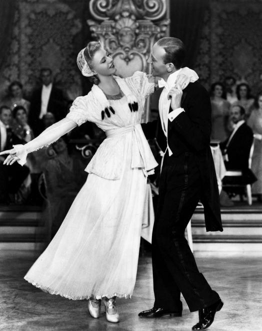 Fred Astaire et Ginger Rogers dans La Grande Farandole (The Story of Vernon and Irene Castle) de de H. C. Potter (1939)