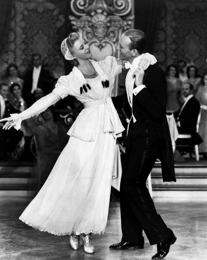 Fred Astaire et Ginger Rogers dans La Grande Farandole (The Story of Vernon and Irene Castle) de de H. C. Potter (1939)