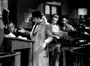 Le Crime de monsieur Lange de Jean Renoir (1936) Sur un scénario de Jacques Prévert, c'est le premier – et l'un des rares – film libertaire diffusé dans les salles françaises avec René Lefèvre, Jules Berry, Florelle