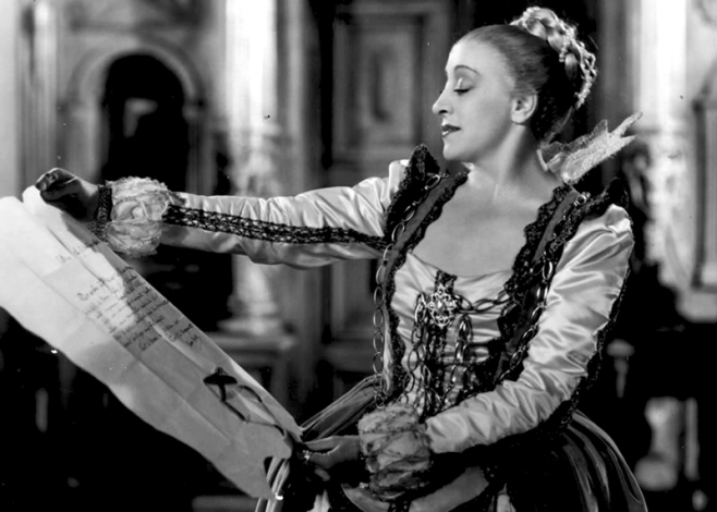 • La Kermesse héroïque de Jacques Feyder, d'après une nouvelle de Charles Spaak, (1935) avec Françoise Rosay, Louis Jouvet