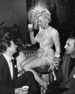ON SET - THERE'S NO BUSINESS LIKE SHOW BUSINESS - Walter Lang (1954)