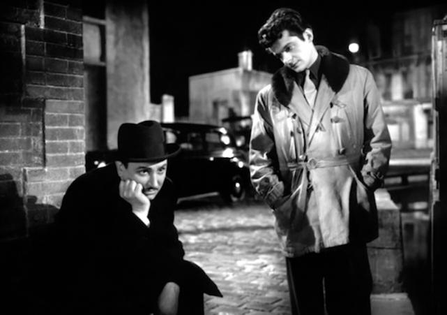 LES PORTES DE LA NUIT – Marcel Carné (1946), Pierre Brasseur, Serge Reggiani