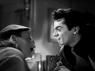 LES PORTES DE LA NUIT – Marcel Carné (1946), Saturnin Fabre et Serge Reggiani