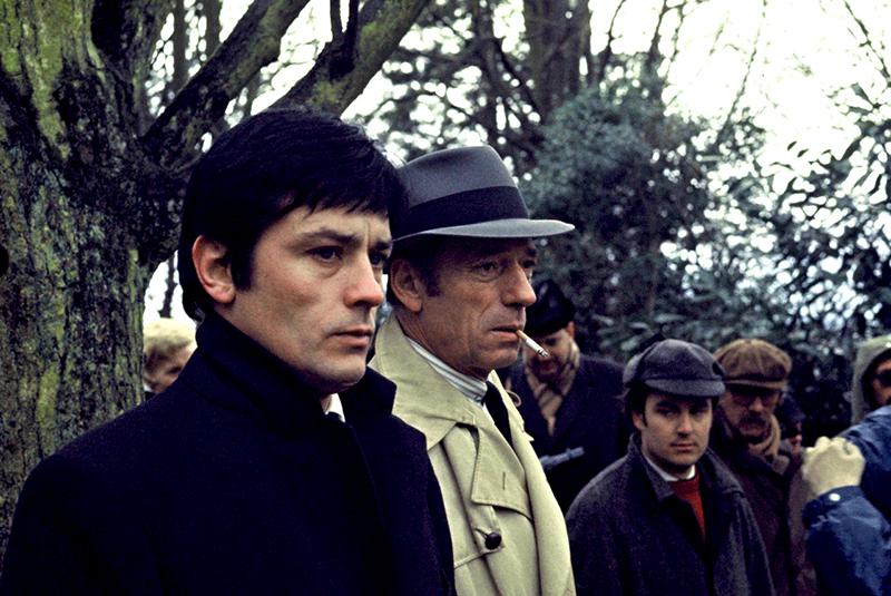 LE CERCLE ROUGE de Jean-Pierre Melville (1970) avec Alain Delon, André Bourvil, Gian Maria Volonte, Yves Montand, François Périer