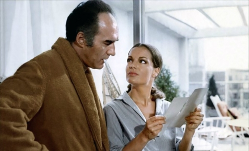 LES CHOSES DE LA VIE Claude Sautet (1970) avec Michel Piccoli, Romy Schneider, Lea Massari