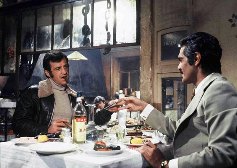 LE CASSE d'Henri Verneuil, (1971) avec Jean-Paul Belmondo,Omar Sharif
