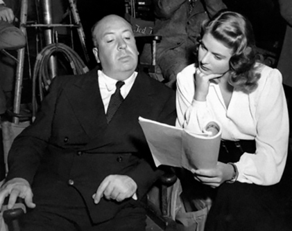 ON SET - NOTORIOUS – Alfred Hitchcock (1946)