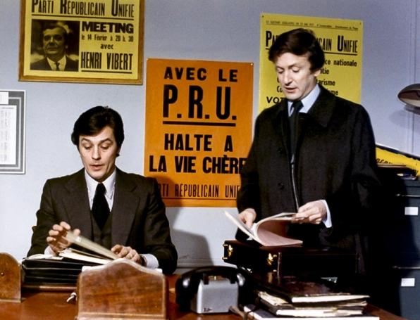 LA RACE DES SEIGNEURS de Pierre Granier-Deferre (1974) avec Alain Delon, Sydne Rome, Jeanne Moreau