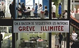 TOUT VA BIEN - écrit et réalisé par Jean-Luc Godard et Jean-Pierre Gorin (1972) avec Yves Montand, Jane Fonda