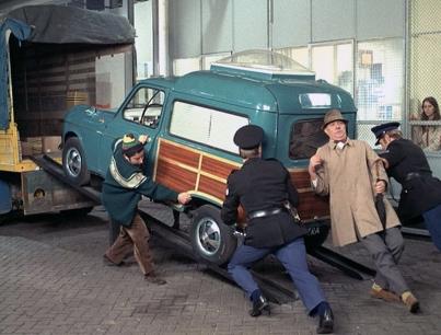 TRAFIC de Jacques Tati (1971) avec Jacques Tati, Maria Kimberly