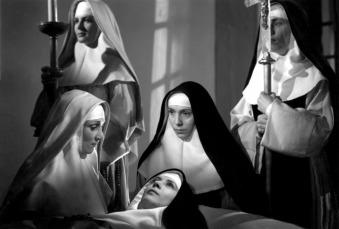 Les Anges du péché de Robert Bresson (1943) avec Renée Faure, Jany Holt, Sylvie, Silvia Monfort, Louis Seigner