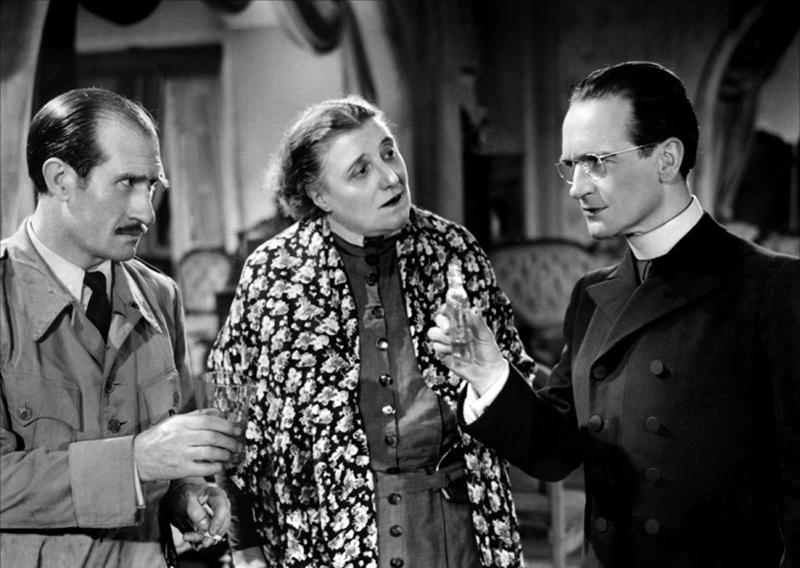 L'assassin habite au 21 d'Henri-Georges Clouzot (1942) avec Pierre Fresnay, Suzy Delair, Jean Tissier, Pierre Larquey, Noël Roquevert