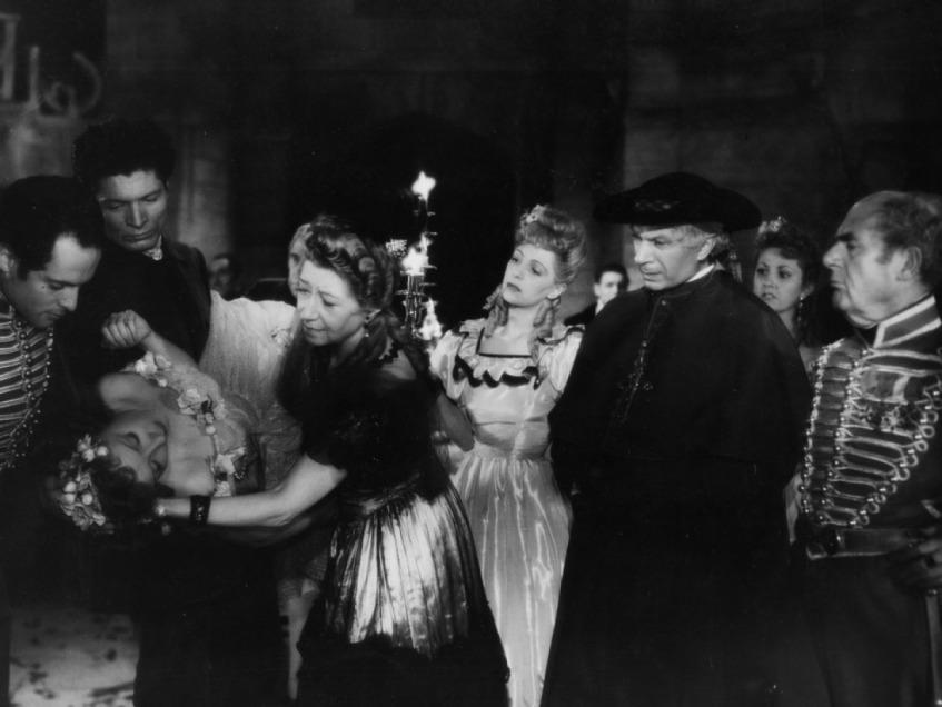 Le Baron fantôme de Serge de Poligny (1942) avec Odette Joyeux, Jany Holt, Alain Cuny, André Lefaur, Gabrielle Dorziat