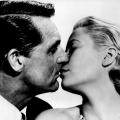 Cary GRANT und Grace KELLY in 'Über den Dächern von Nizza'