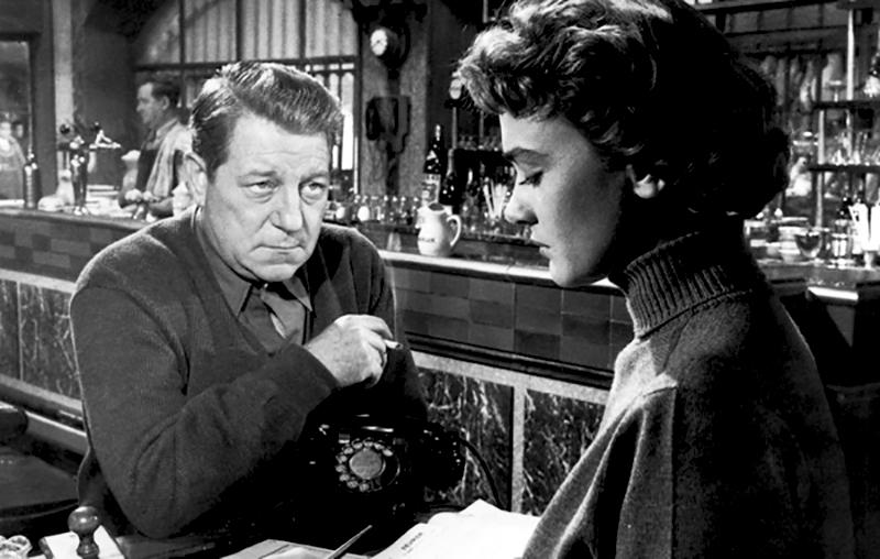 VOICI LE TEMPS DES ASSASSINS de Julien Duvivier, (1956) avec Jean Gabin, Danièle Delorme, Gérard Blain, Lucienne Bogaert, Germaine Kerjean