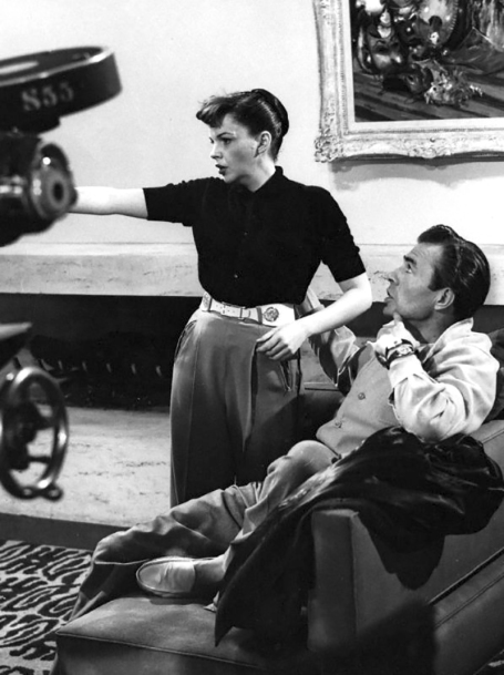 ON SET - A STAR IS BORN de George Cukor (1954)