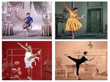"AN AMERICAN IN PARIS – Vincente Minnelli (1951) - Leslie Caron - ""Embraceable You"""