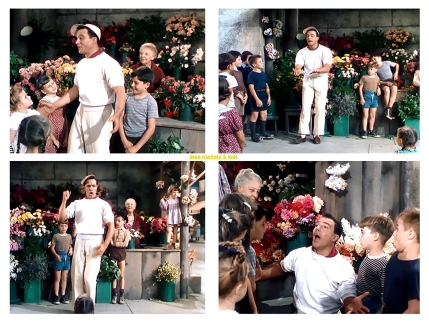 "AN AMERICAN IN PARIS – Vincente Minnelli (1951) - Gene Kelly - ""I Got Rhythm"""