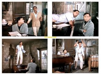 "AN AMERICAN IN PARIS – Vincente Minnelli (1951) - Gene Kelly, Oscar Levant - ""Tra-Ia-Ia"""