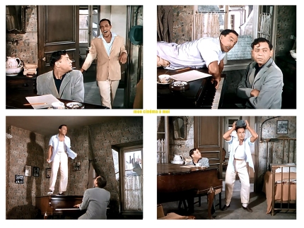 "AN AMERICAN IN PARIS – Vincente Minnelli (1951) - Gene Kelly, Oscar Levant - ""Tra-Ia-Ia"""