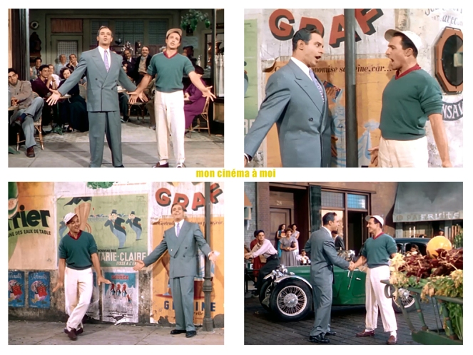 AN AMERICAN IN PARIS – Vincente Minnelli (1951) - Gene Kelly, Georges Guétary - 'S Wonderful