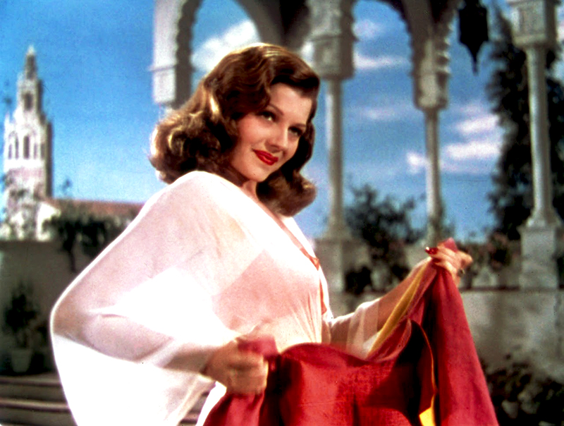 blood and sand- rita hayworth