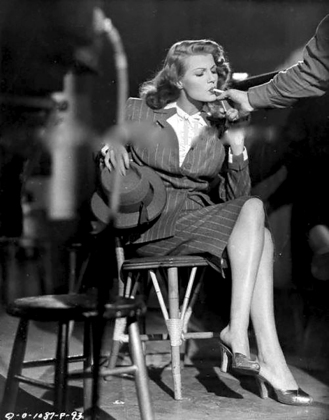 ON SET - GILDA – Charles Vidor (1946) - Rita Hayworth, Glenn Ford, George Macready
