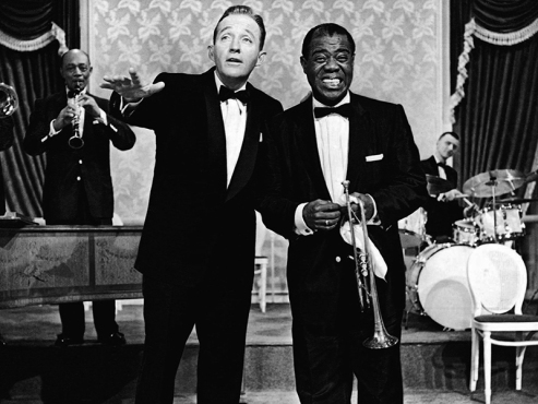 HIGH SOCIETY - Charles Walters (1956) - Bing Crosby, Louis Armstrong