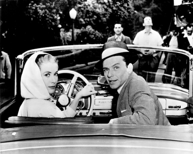 On set - HIGH SOCIETY - Charles Walters (1956) - Grace Kelly, Frank Sinatra