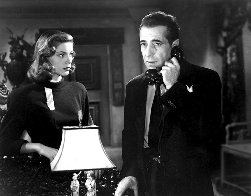 THE BIG SLEEP - Howard Hawks (1946) - Lauren Bacall, Humphrey Bogart