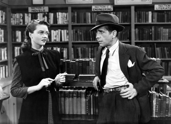 THE BIG SLEEP - Howard Hawks (1946) - Dorothy Malone, Humphrey Bogart