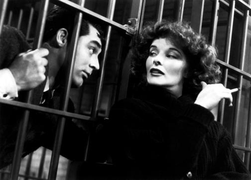Katharine Hepburn et Cary Grant dans Bringing up Baby - Howard Hawks (1938). Ce film est considéré comme l'un des plus représentatifs de la screwball comedy.