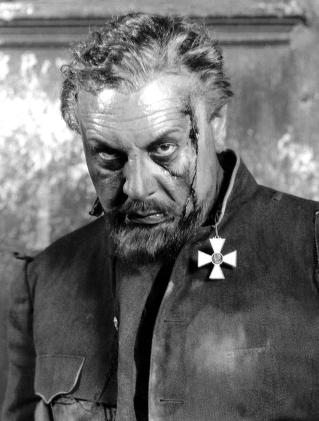 Emil Jannings dans «The Last Command» de Josef Von Sternberg (1928)