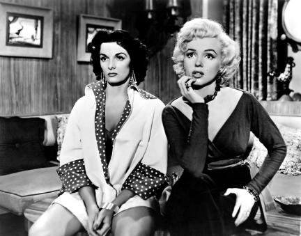Gentlemen Prefer Blondes - Howard Hawks (1953) avec Marilyn Monroe, Jane Russell