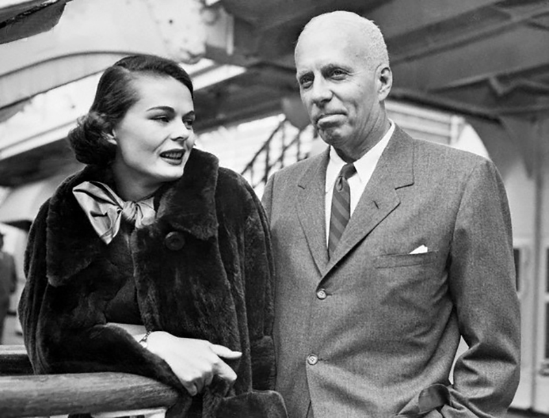 Howard Hawks & His Bride, Dee Hartford