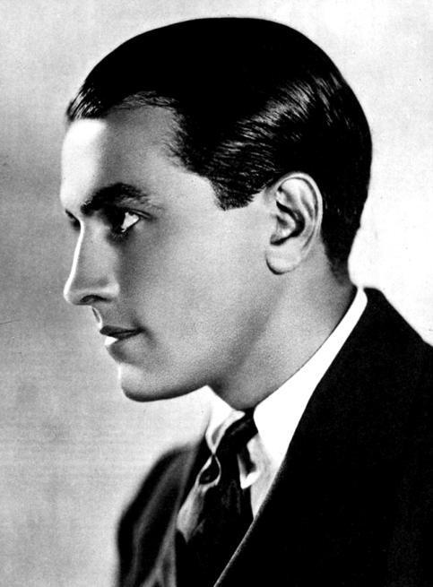Richard Barthelmess photographié par James Abbe (1923)