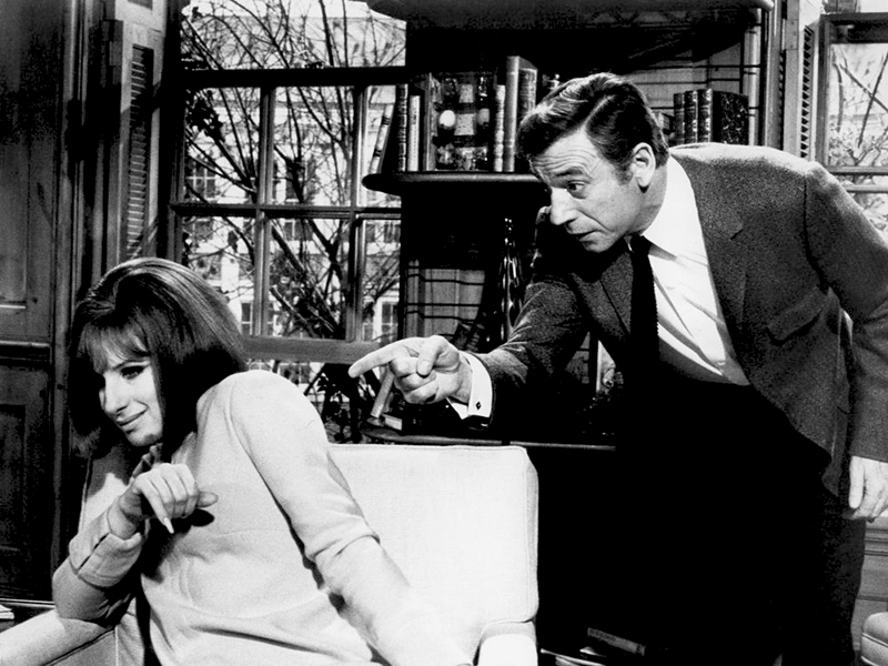 ON A CLEAR DAY YOU CAN SEE FOREVER, Barbra Streisand, Yves Montand, 1970