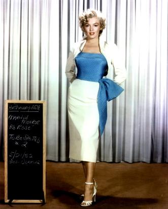 "Marilyn Monroe Wardrobe Tests for ""Niagara"""