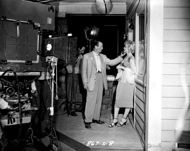 ON SET - NIAGARA - Henry Hathaway (1953)
