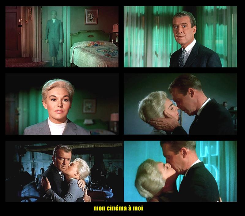 VERTIGO (Sueurs froides) - Alfred Hitchcock (1958) avec James Stewart, Kim Novak, Barbara Bel Geddes, Tom Helmore