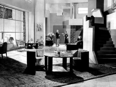 Les Nouveaux Messieurs de Jacques Feyder (1928) avec Gaby Morlayet Albert Préjean. Décors: Lazare Meerson