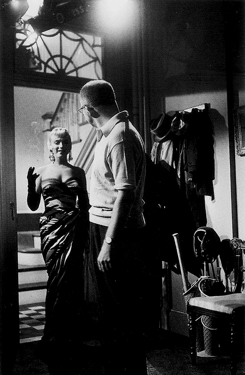 On Set - THE SEVEN YEAR ITCH de Billy Wilder (1955)