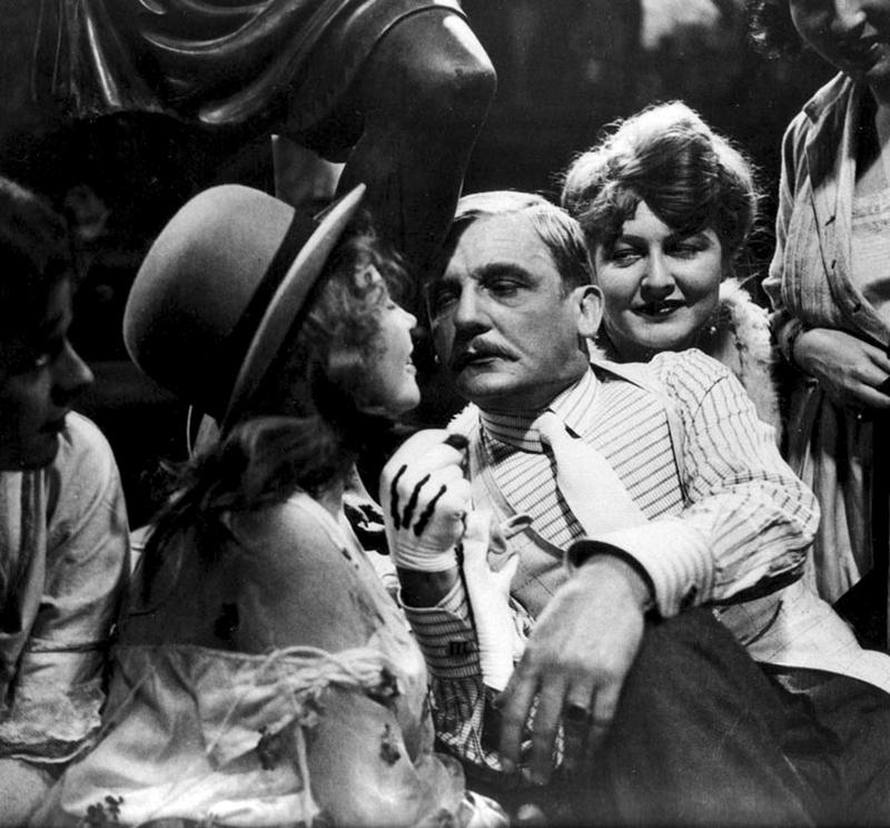 """""""Die 3-Groschen-Oper""""DE 1930/31 Szene mit Rudolf Forster"""